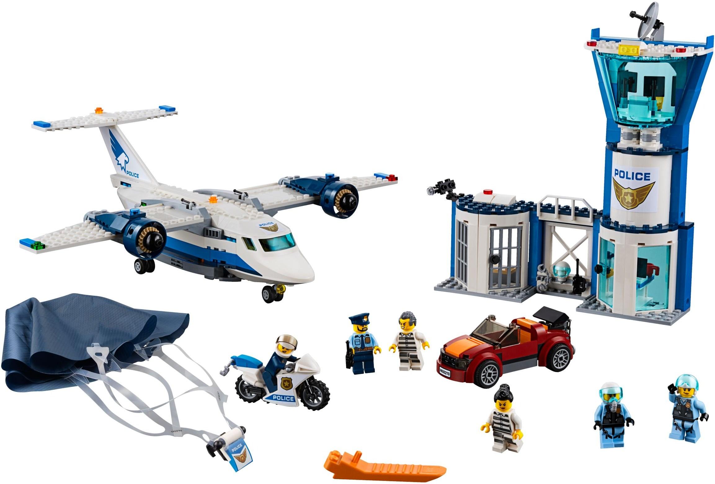 LEGO Real Life Heroes air base