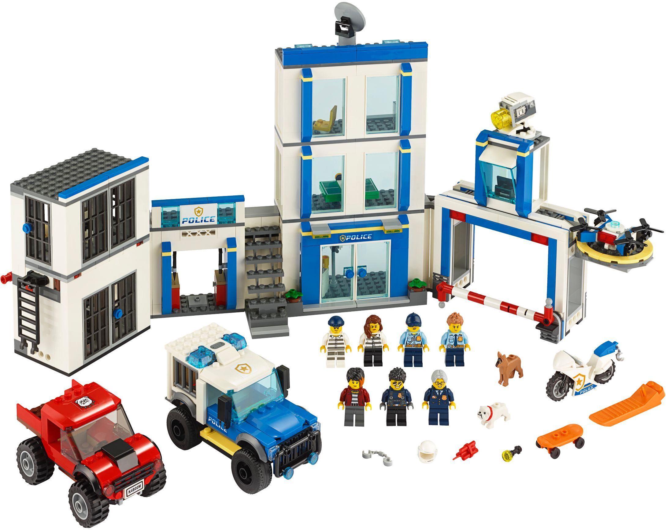 LEGO Real Life Heroes police station
