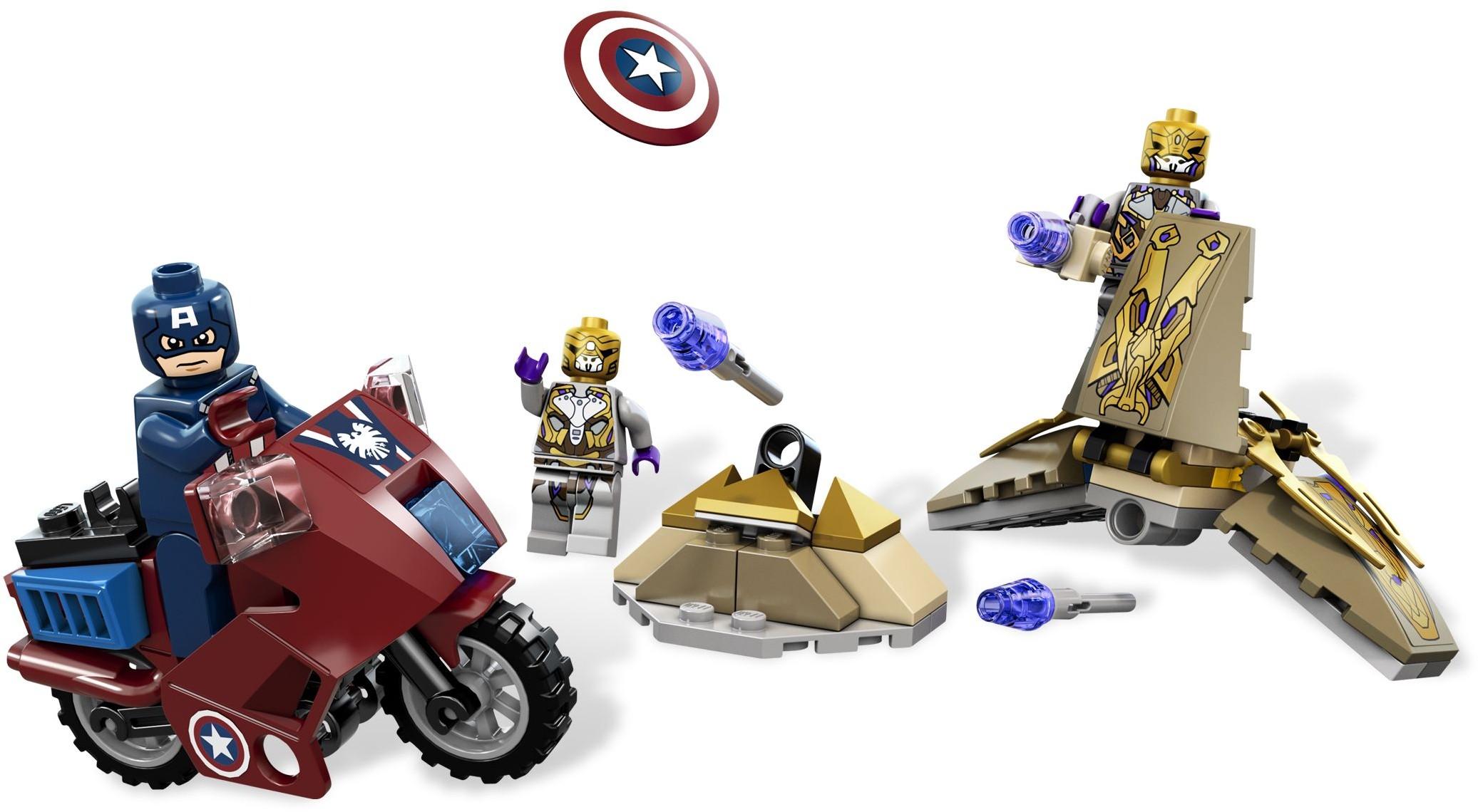 lego marvel 2012 avenging cycle