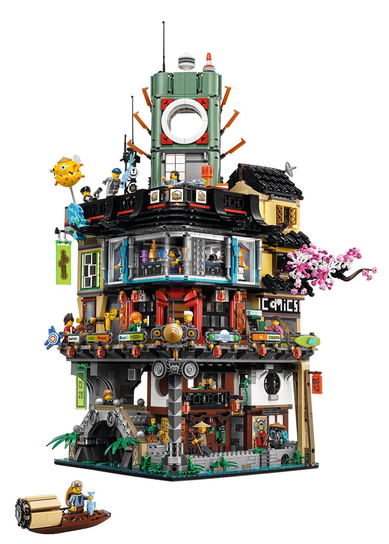 biggest lego sets ninjago city