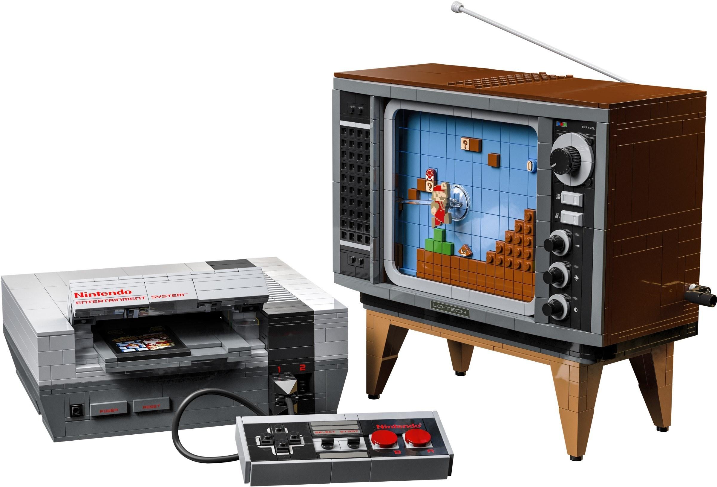18+ lego sets nintendo entertainment system