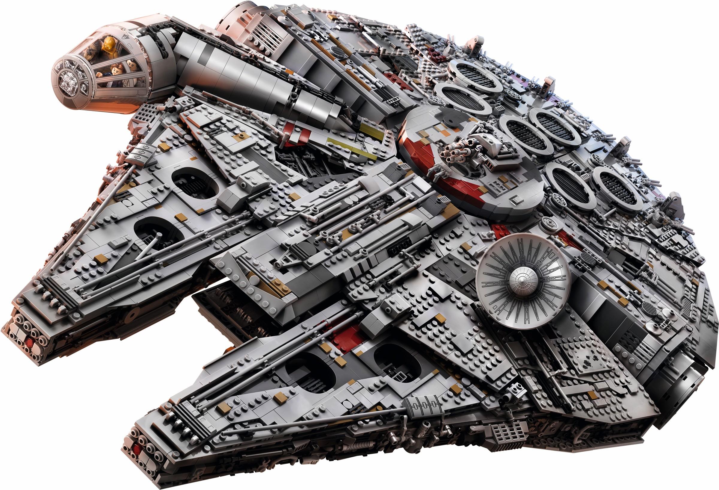 biggest lego sets ucs millennium falcon