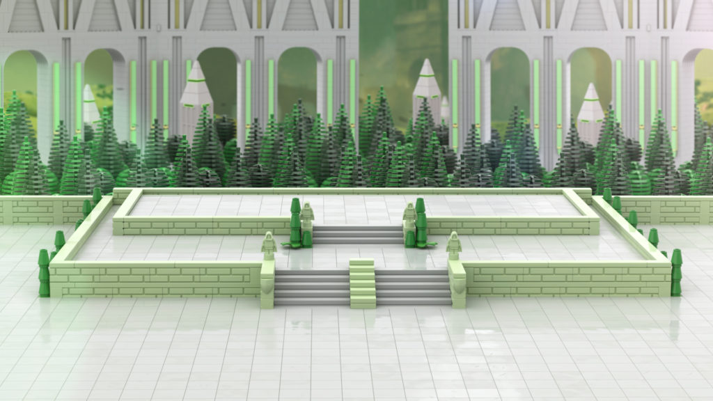 LEGO Magic the Gathering locations