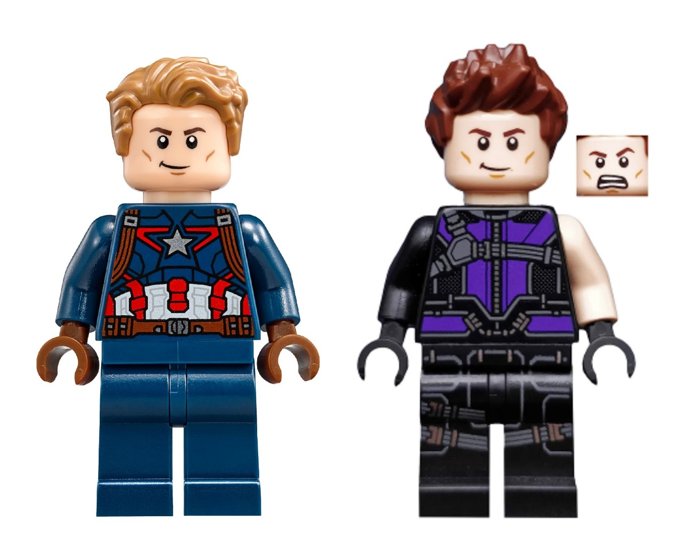 lego marvel captain america hawkeye