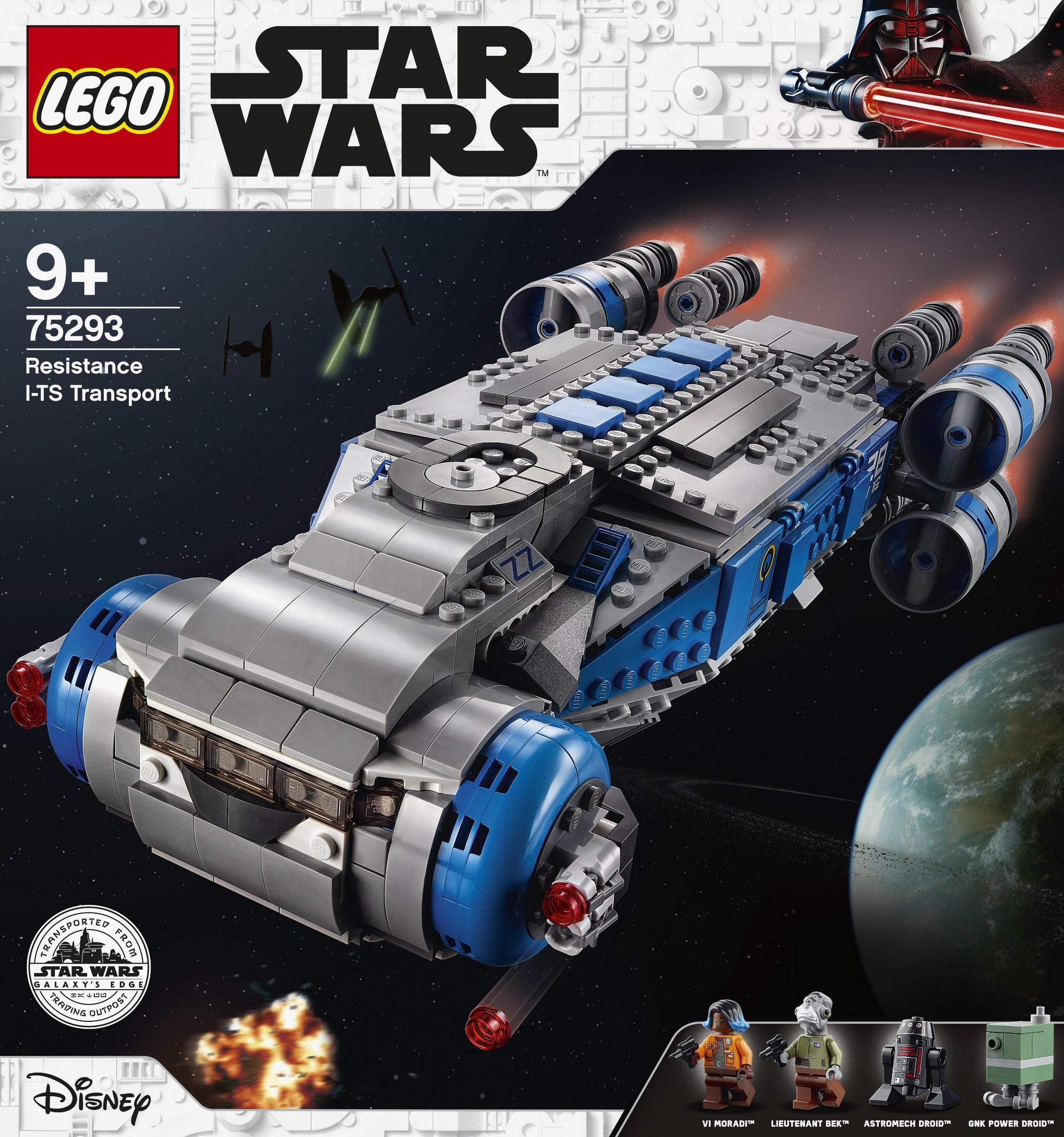 galaxys edge lego 75293