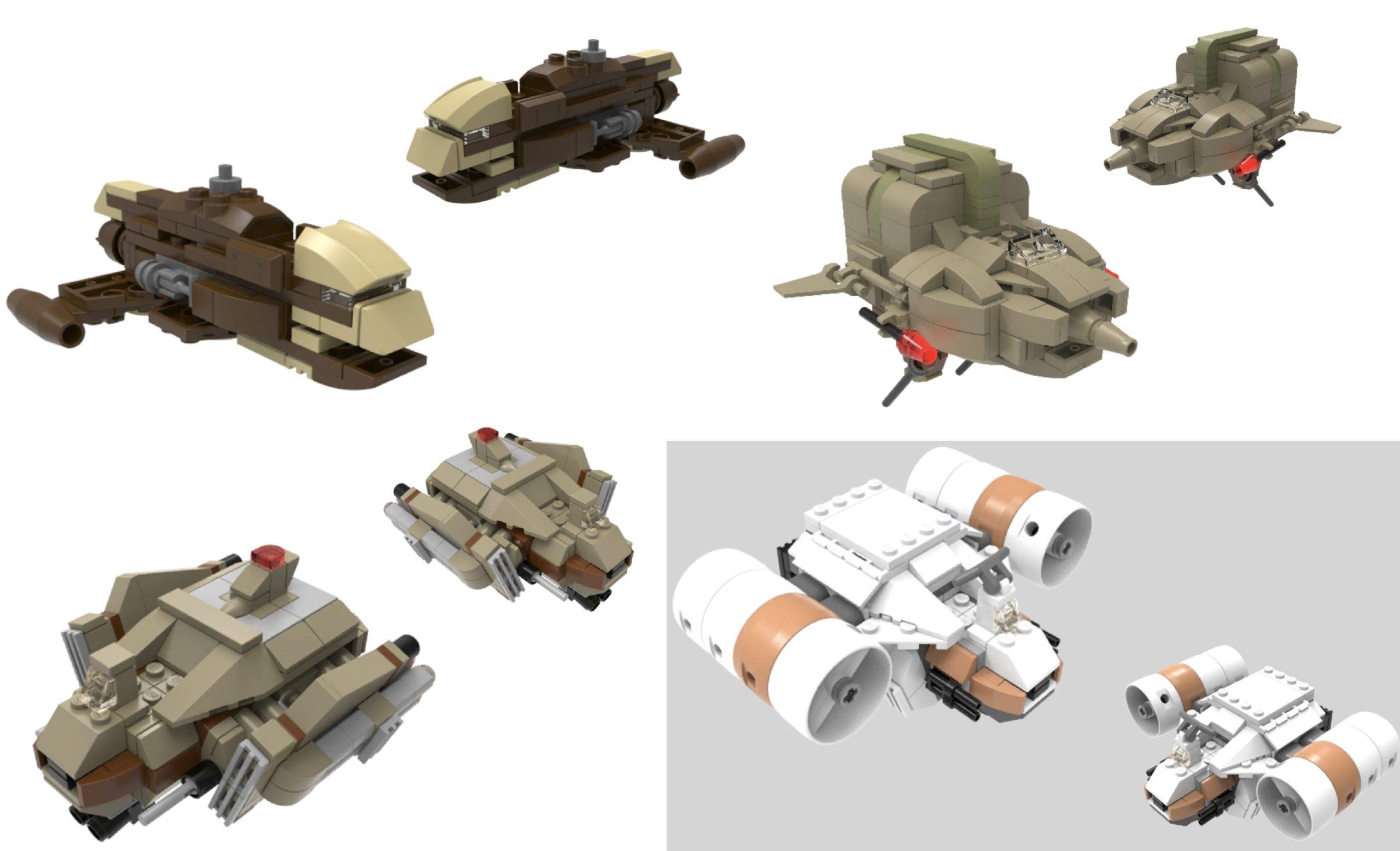 star wars microfighters