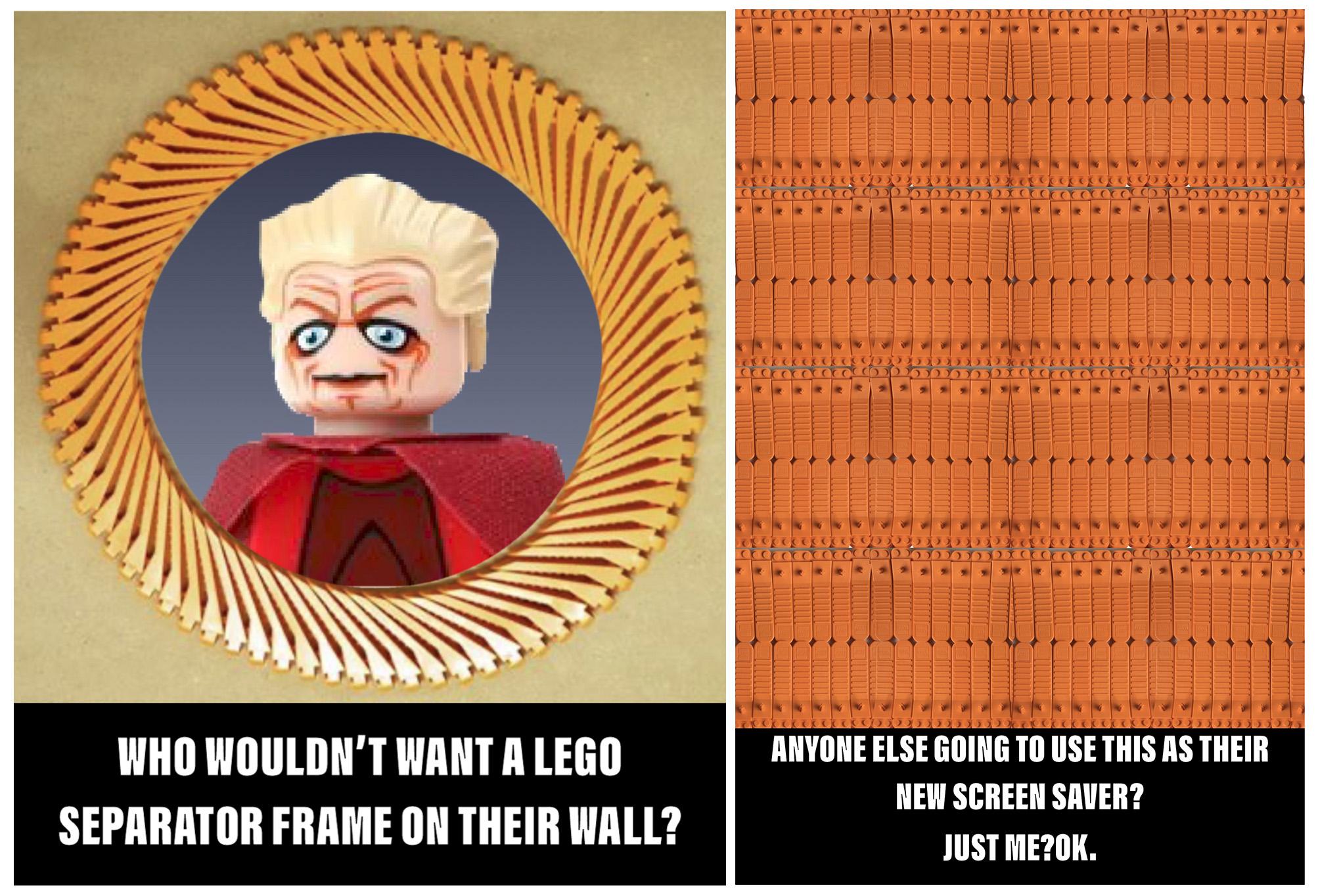 lego collectors brick separators
