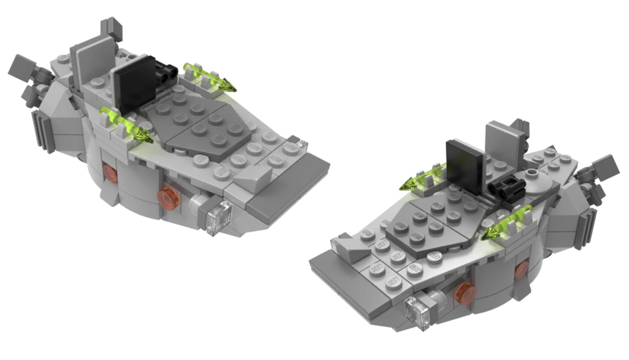 star wars microfighters troop transport