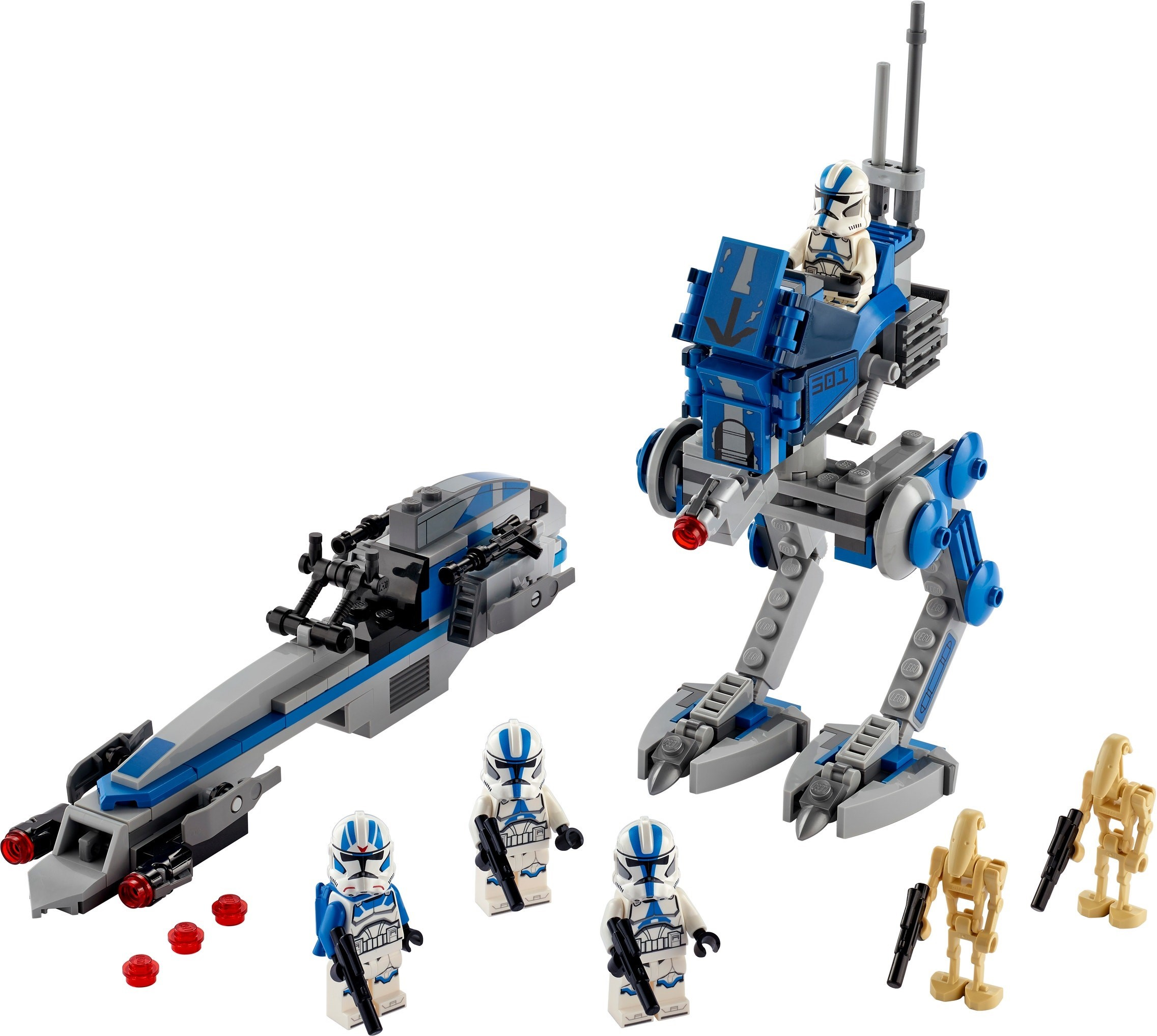 lego star wars 2020 501st legion clone troopers