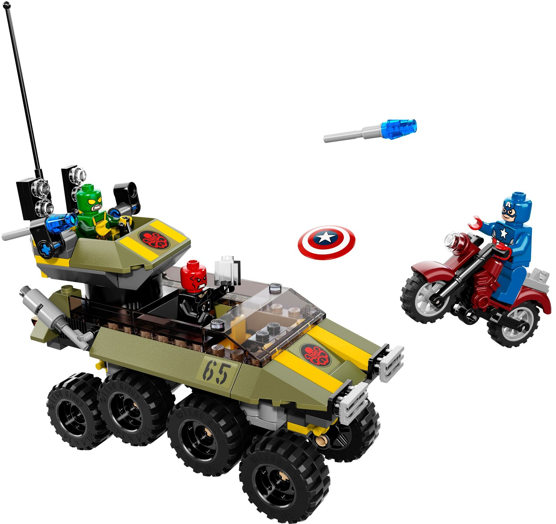 2014 lego marvel captain america vs hydra