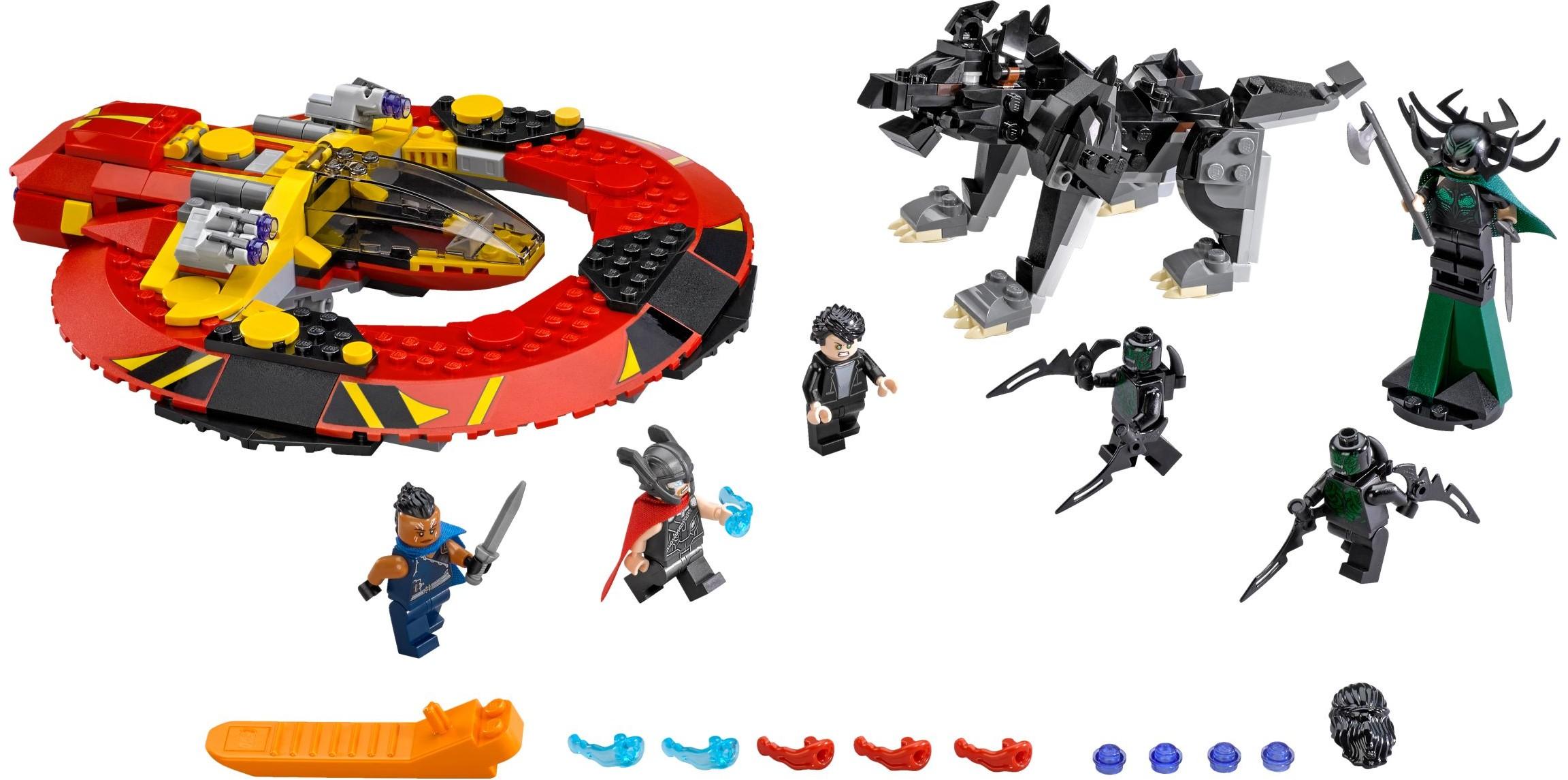 2017 lego marvel sets ultimate battle for asgard
