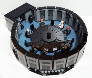 Recreate the Death Star Conference Room Scene in LEGO