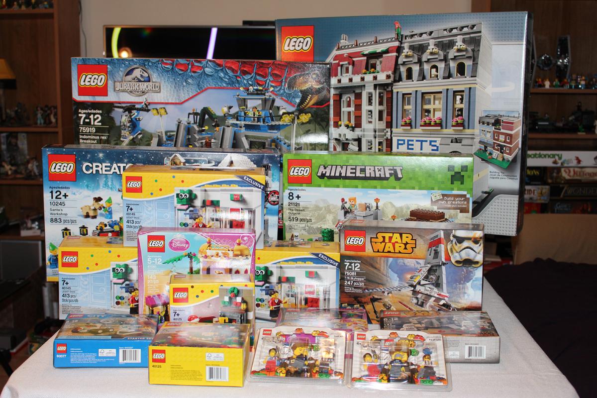 lego hobby: sets