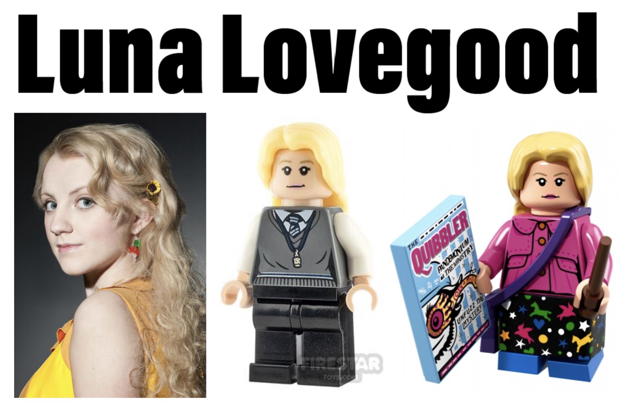 ravenclaw minifigures luna lovegood