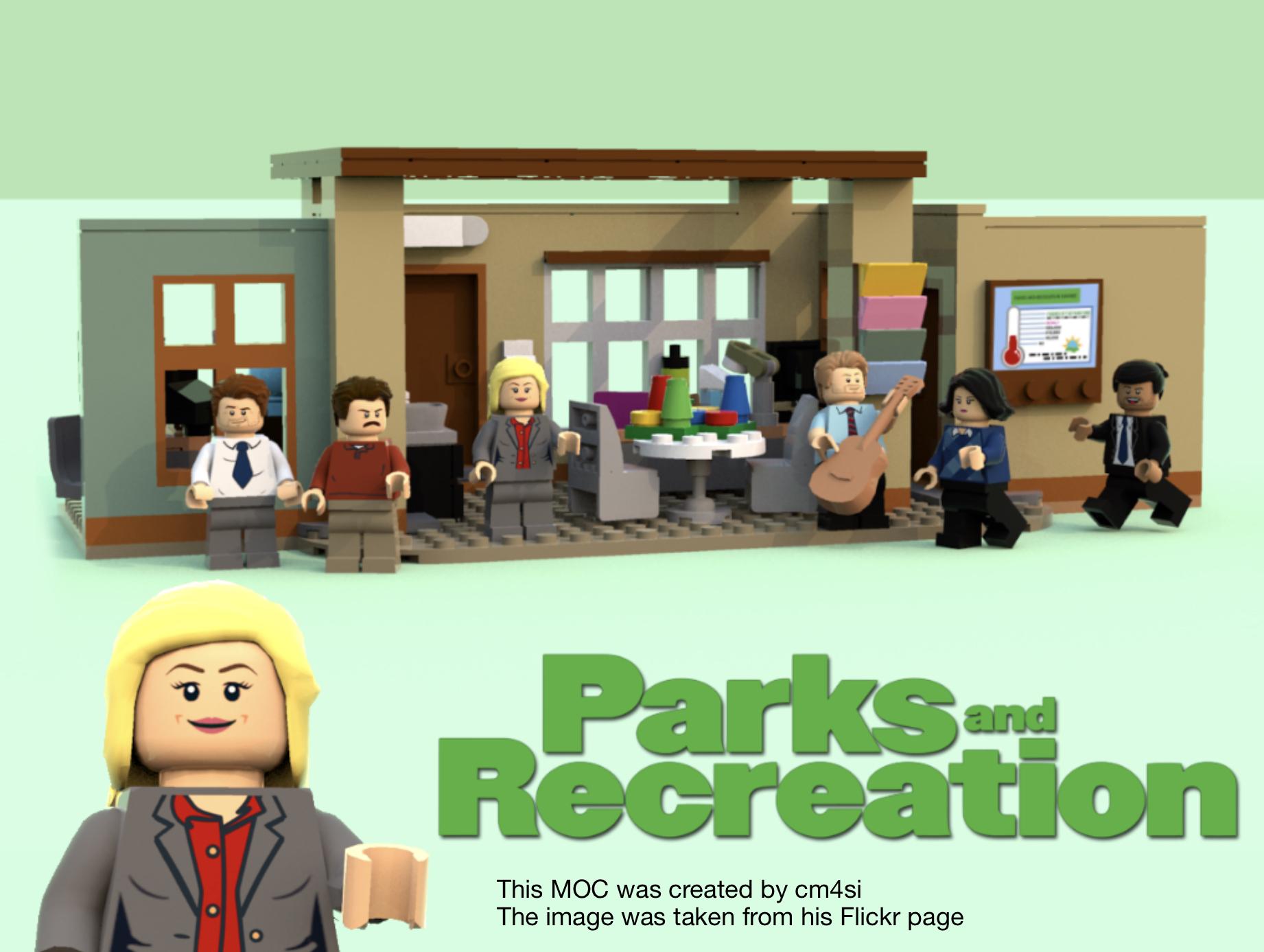 lego politics parks and recreation