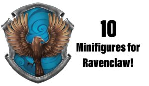 10 Minifigures for Ravenclaw: Make Your Own Hogwarts Students!