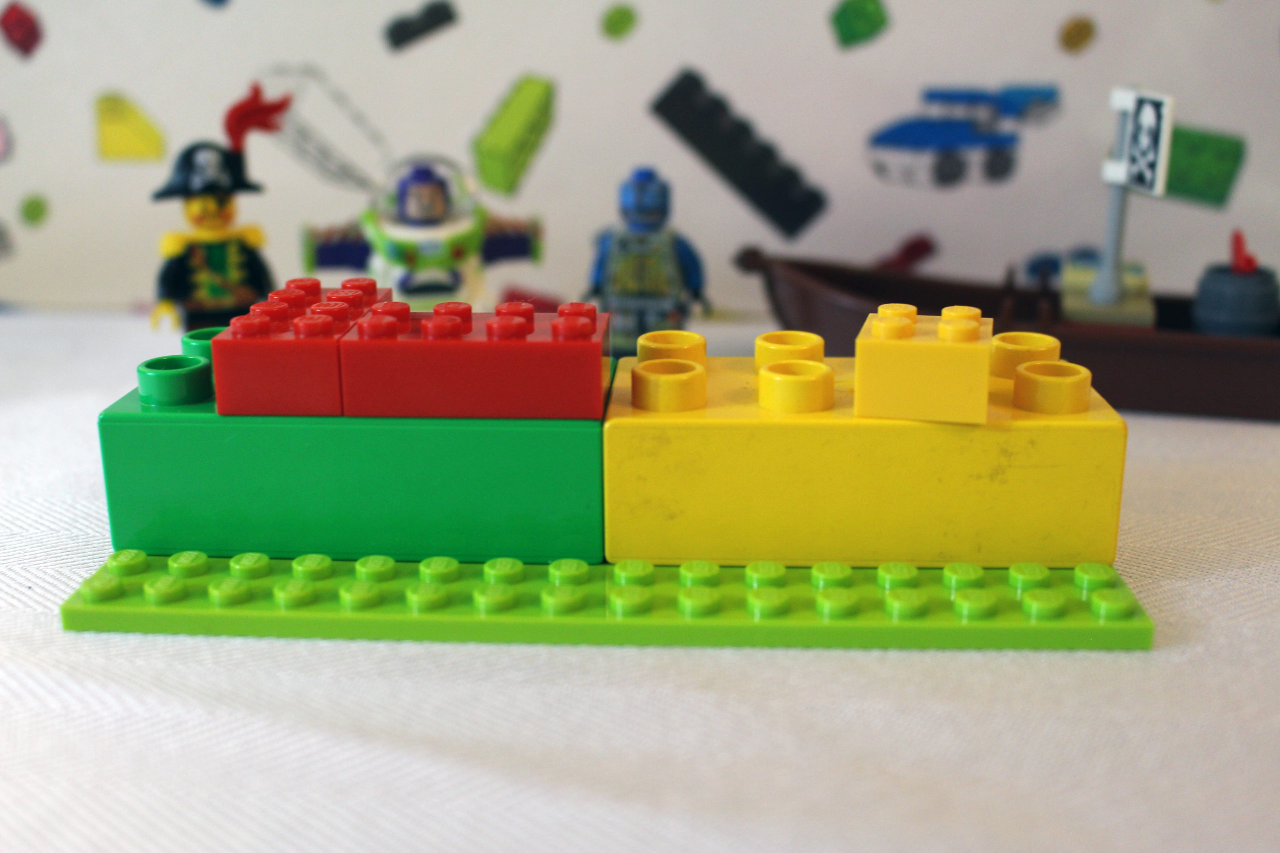 lego facts: System and DUPLO