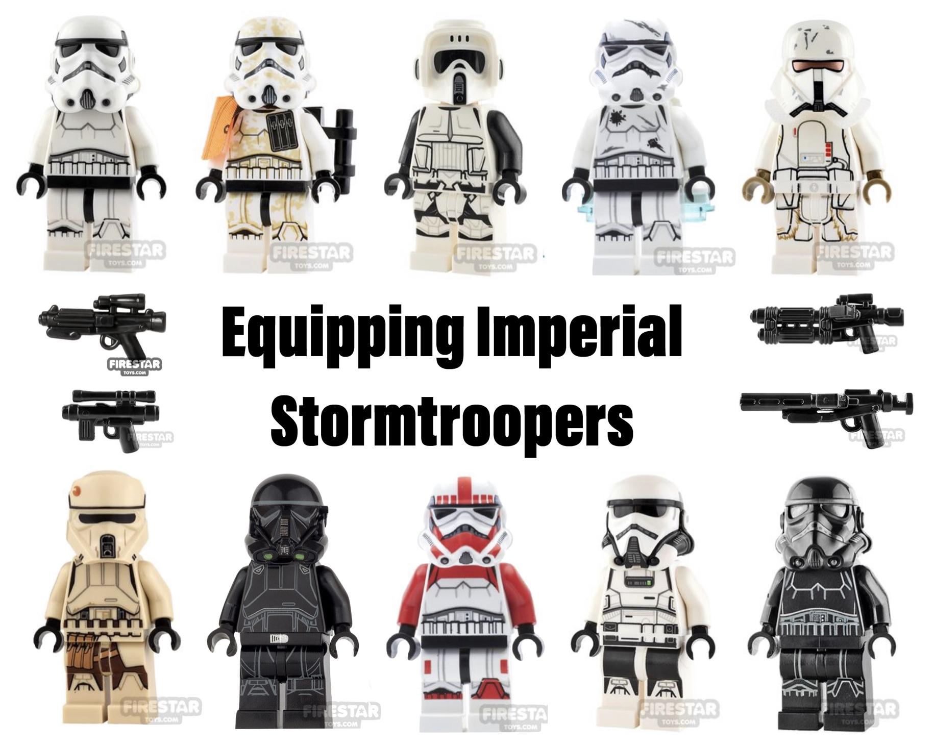 Custom Incinerator Stormtrooper Battlefront 2 Lego Star Wars minifigures