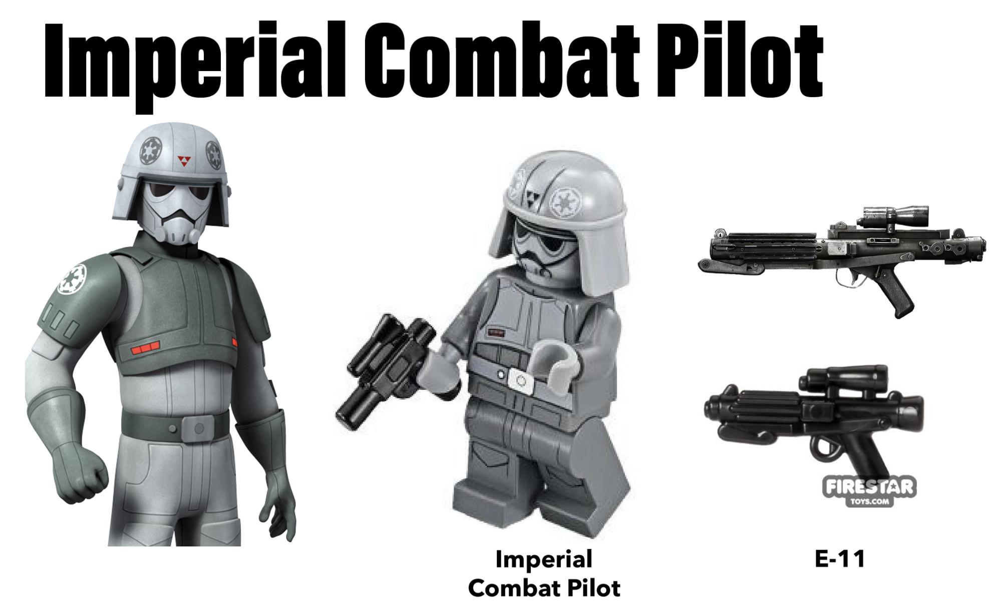 lego stormtrooper combat pilot