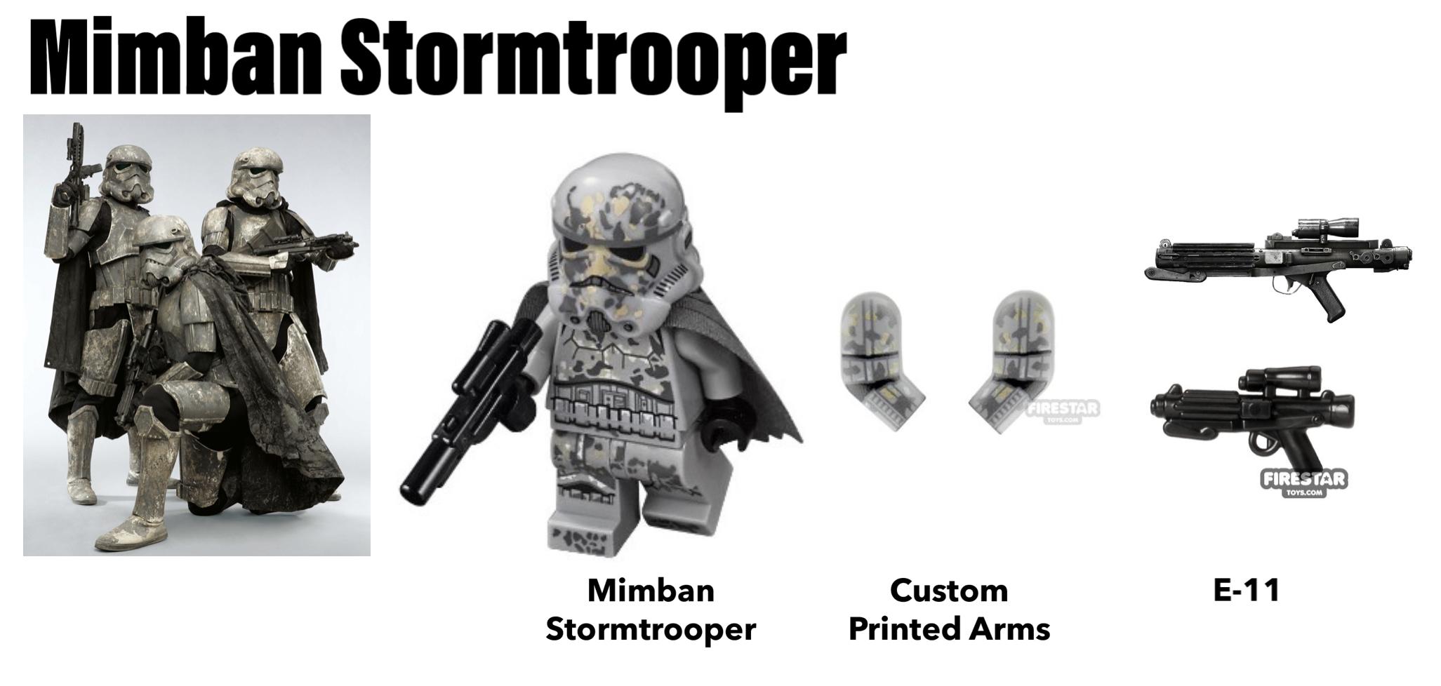 lego mimban stormtrooper