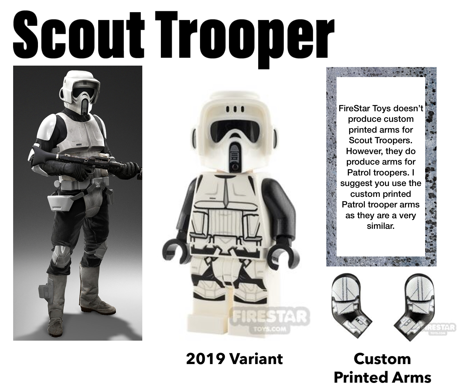 lego stormtrooper scout trooper