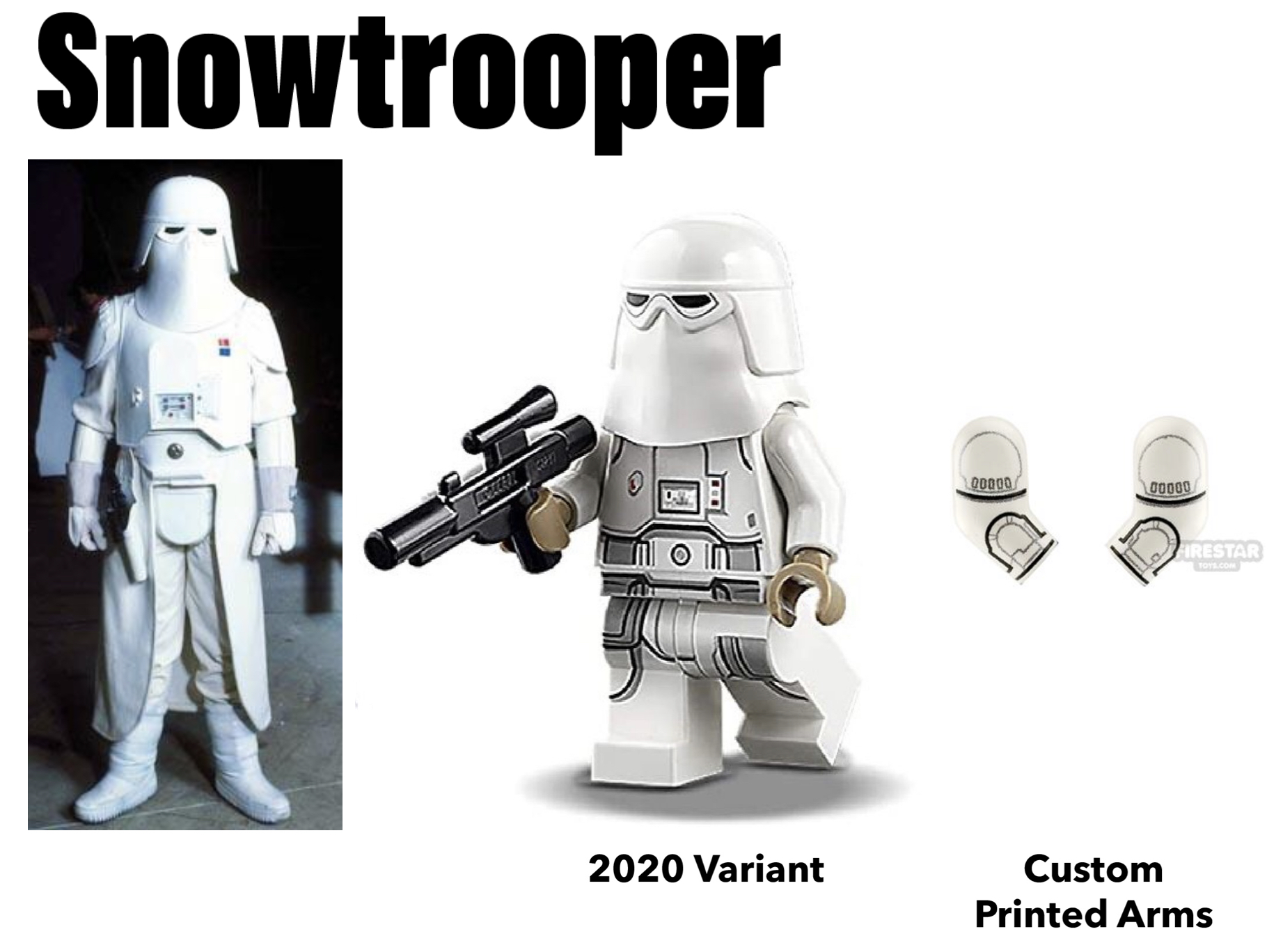 lego stormtrooper snowtrooper