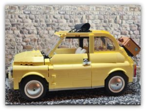 LEGO Fiat 500 (10271): Living the Dolce Vita