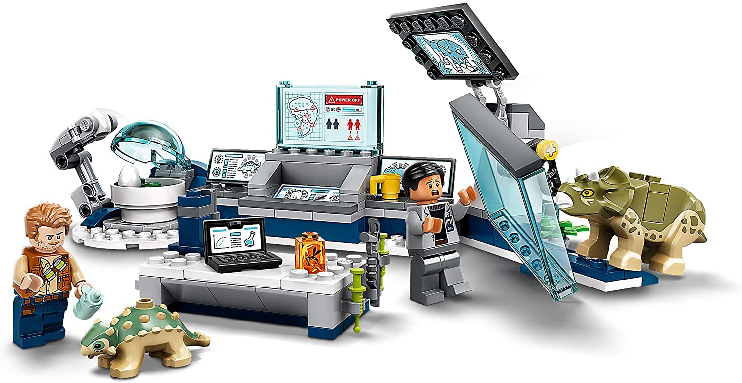 LEGO Dr Wu's Lab: Baby Dinos Breakout Image