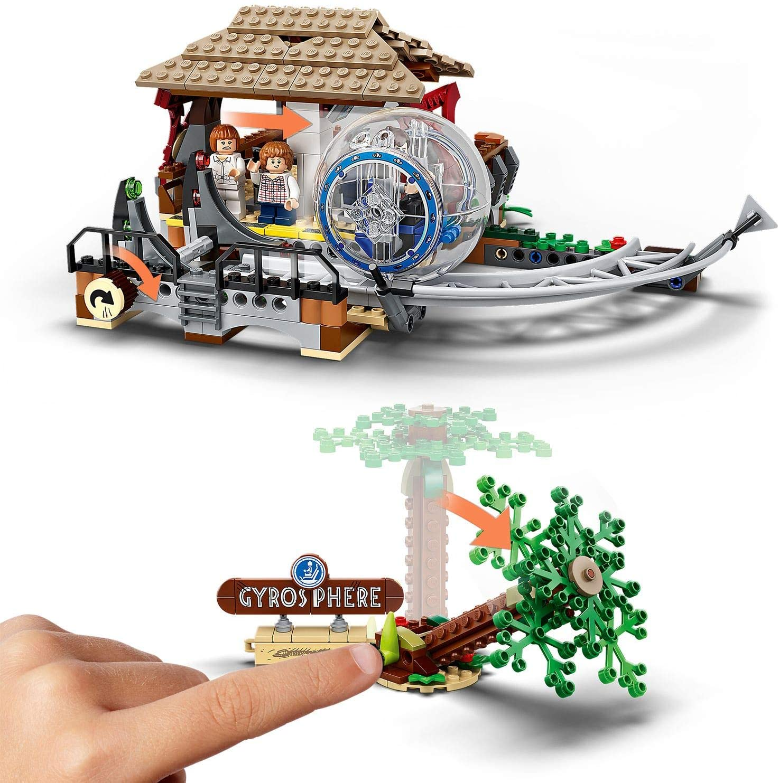LEGO Indominus Rex vs Ankylosaurus