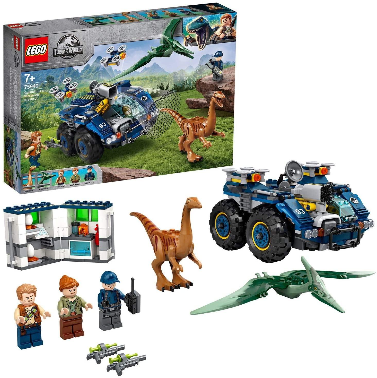 LEGO Jurassic World - Gallimimus and Pteranodon Breakout