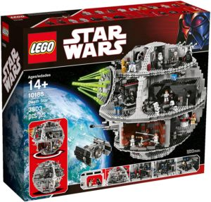 How many minifigures are in the LEGO Death Star sets?