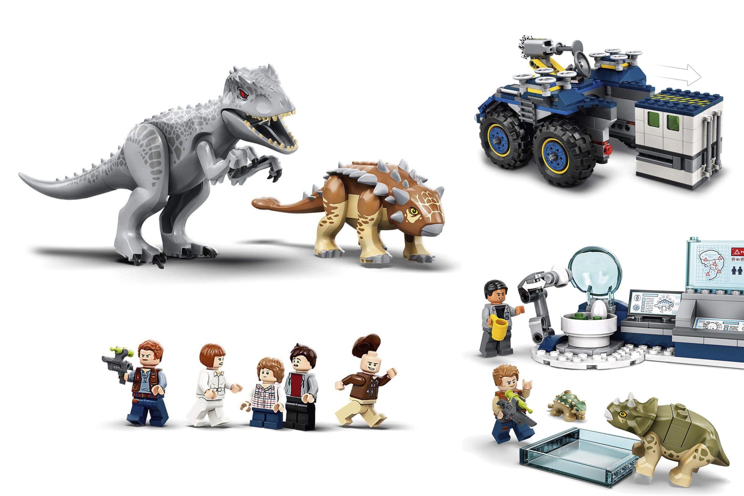 LEGO Jurassic World 2020 Footer Image