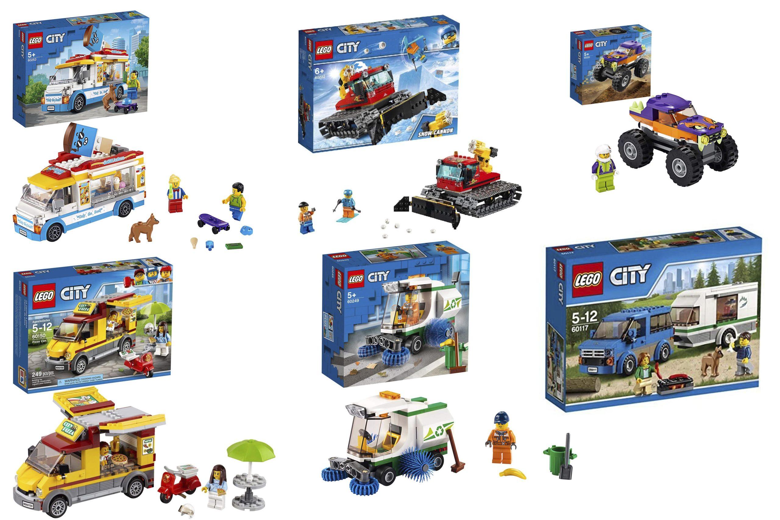 LEGO City Great Vehicles - Header Image