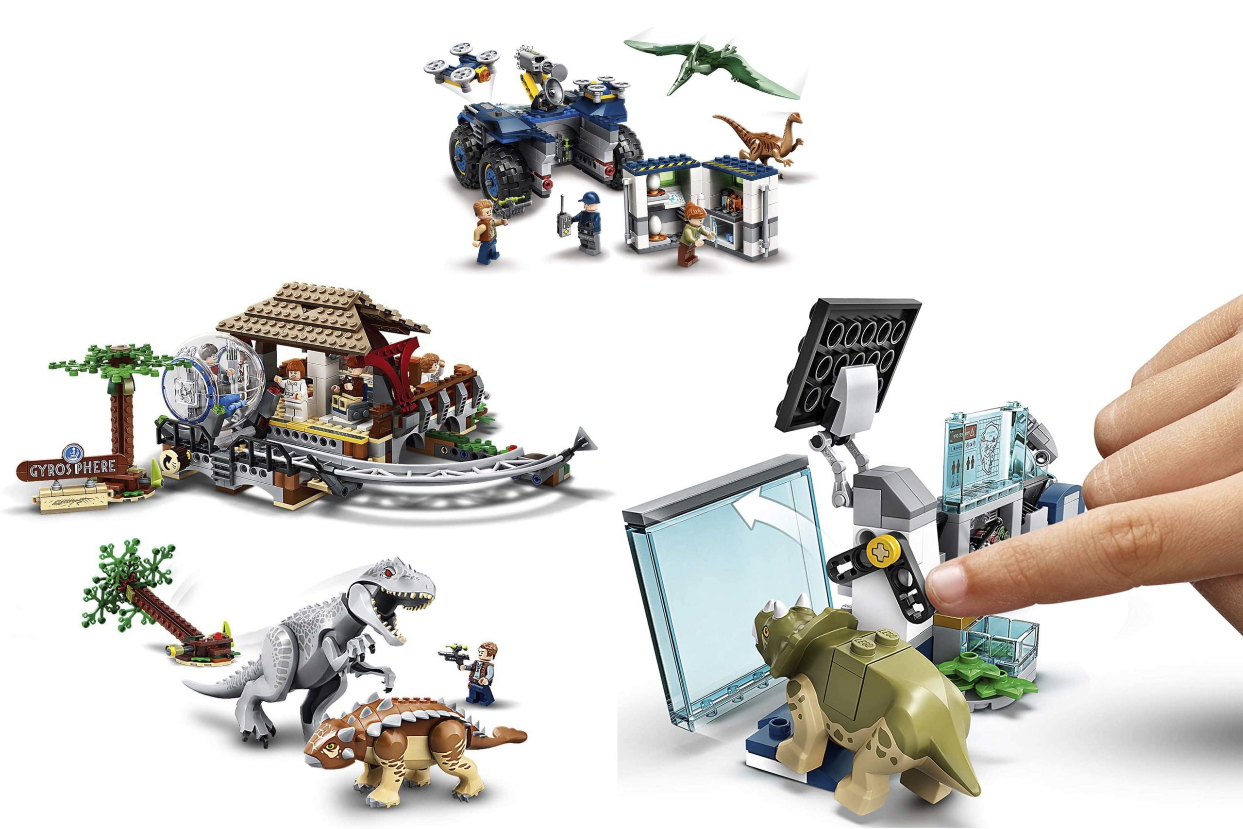LEGO Jurassic World 2020 sets - Header Image