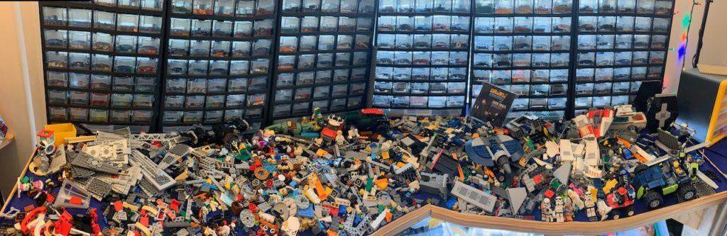 a LEGO collection