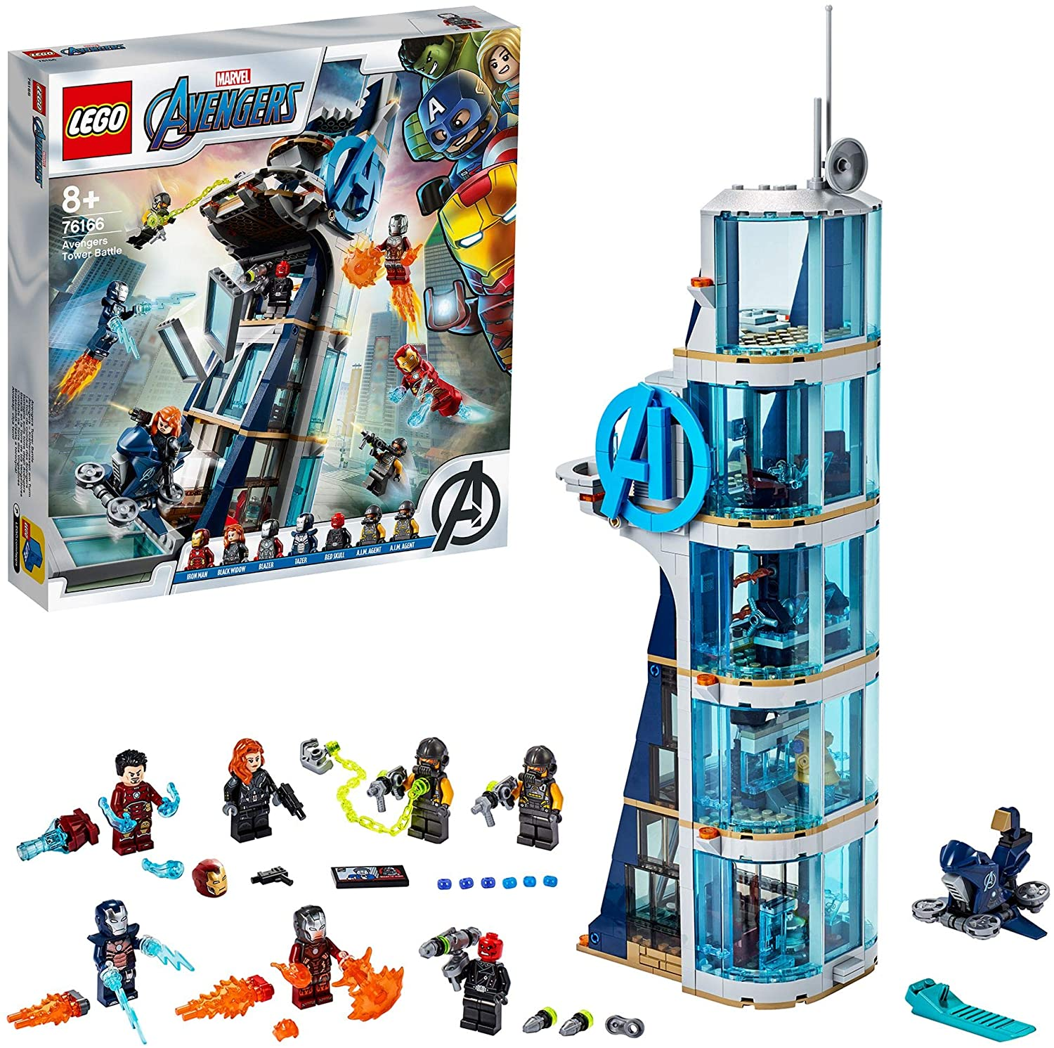 LEGO Avengers Tower Battle