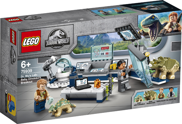LEGO Christmas Gift Guide - Dr Wu's Lab Baby Dinosaurs Breakout