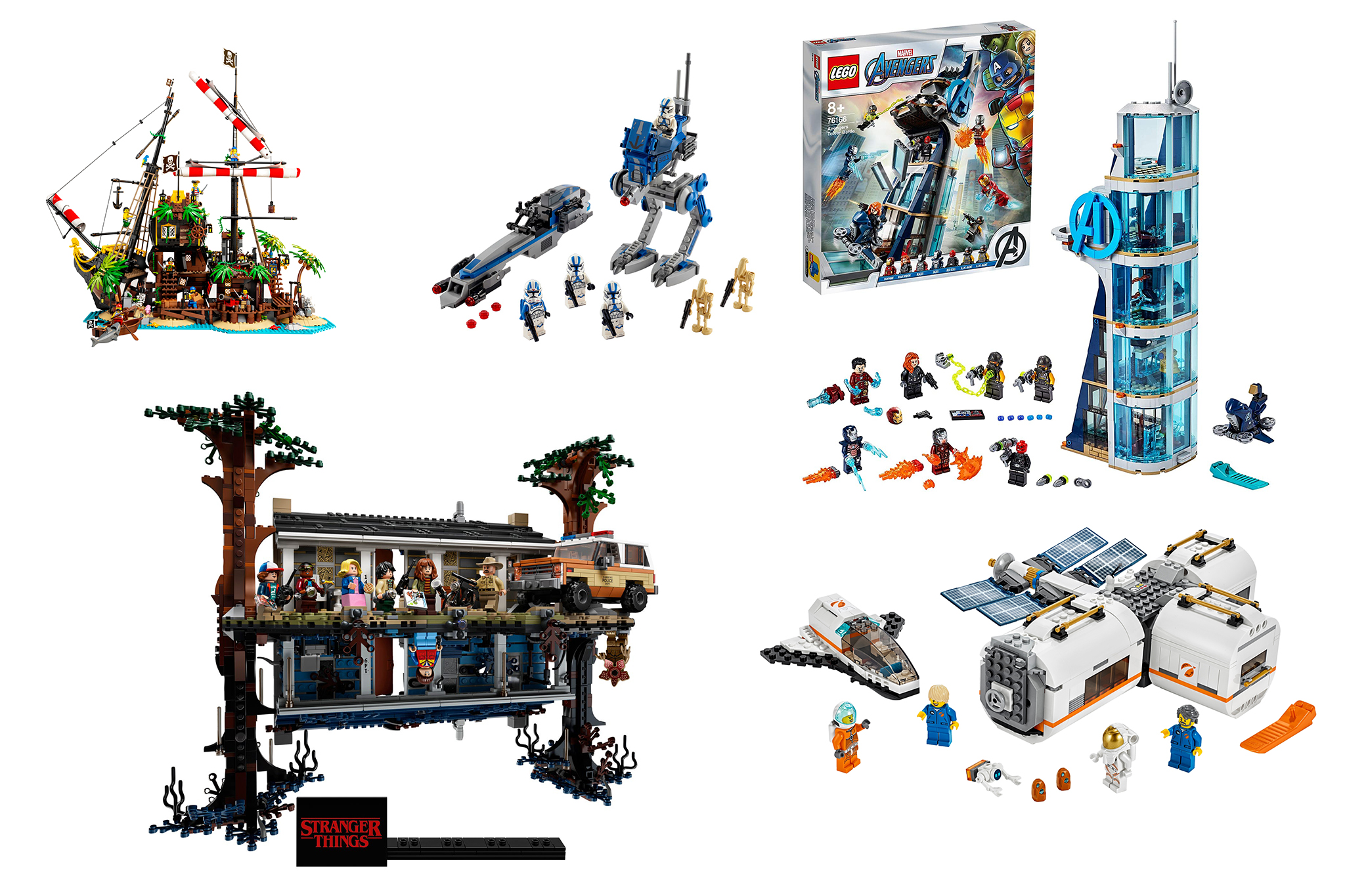 LEGO Christmas Gift Guide - All sets footer image