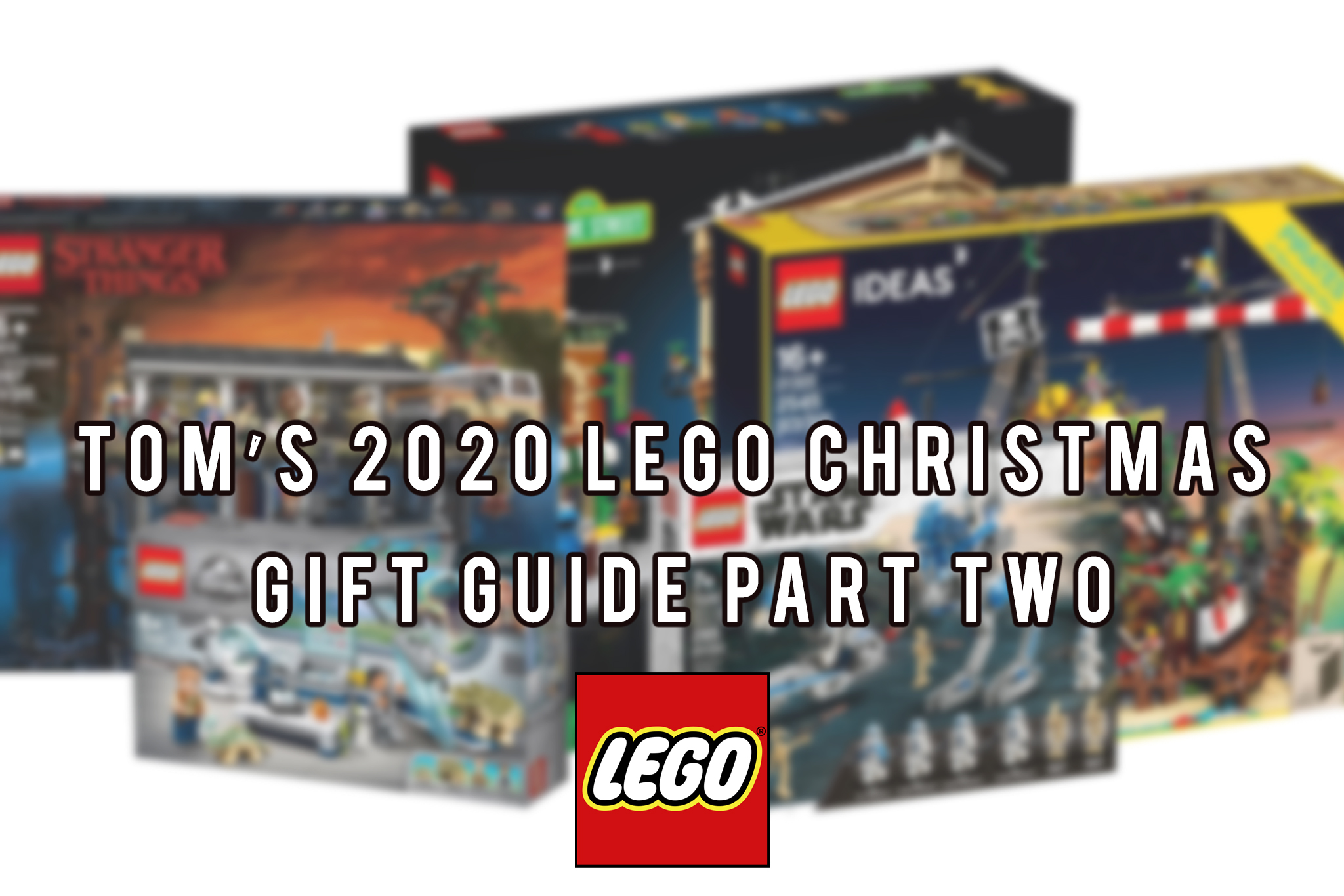 LEGO Christmas Gift Guide - Header Image