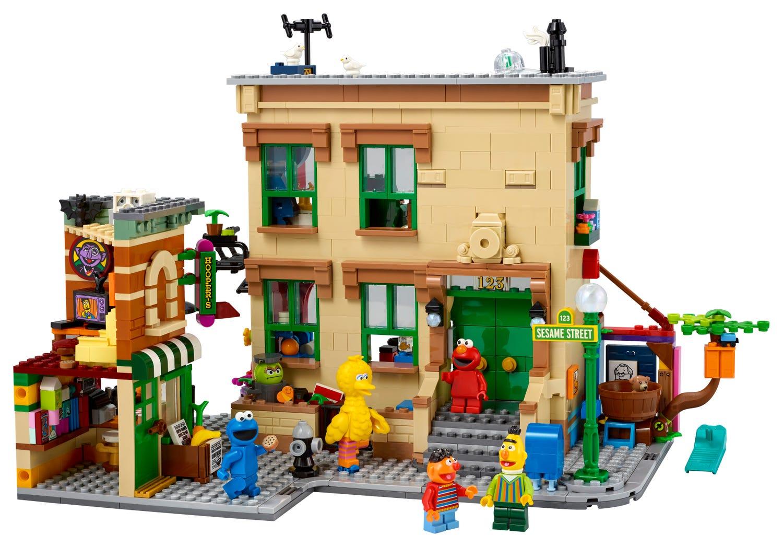 LEGO Sesame Street Set Image