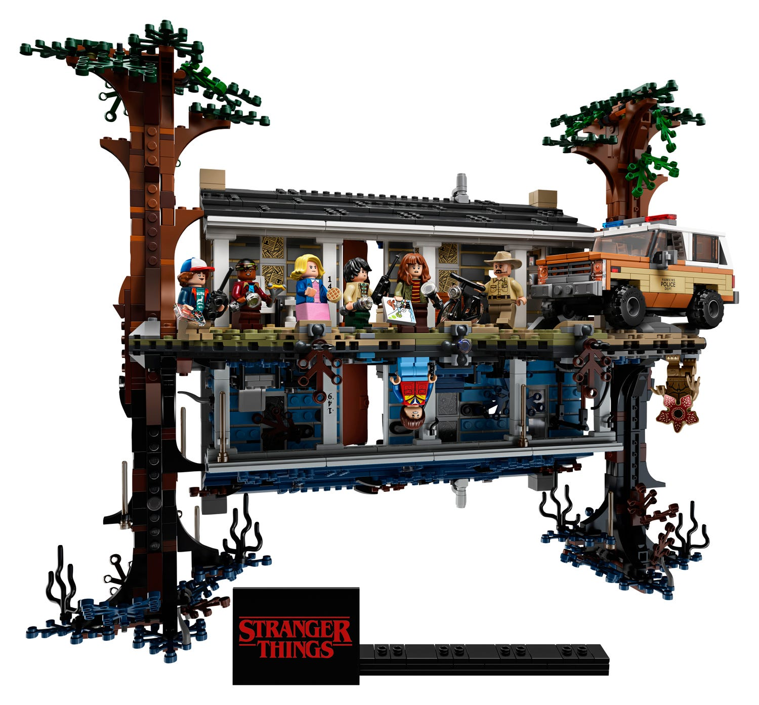 LEGO Christmas Gift Guide - Stranger Things Set