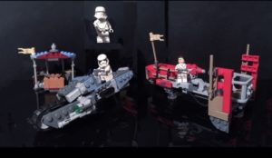 LEGO 75250: A Review of the Pasaana Speeder Chase Set