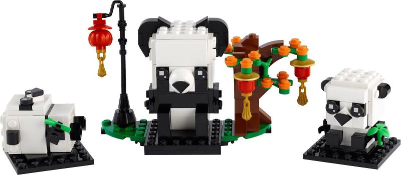 LEGO Brickheadz Panders Image