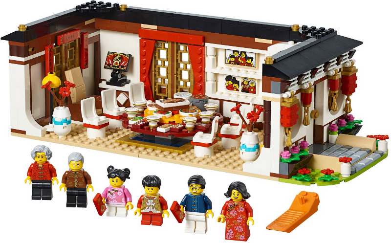 Chinese New Year's Eve Dinner Set Image