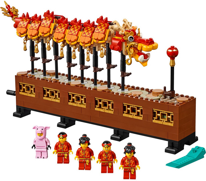 LEGO Chinese New Year - Dragon Dance Set Image