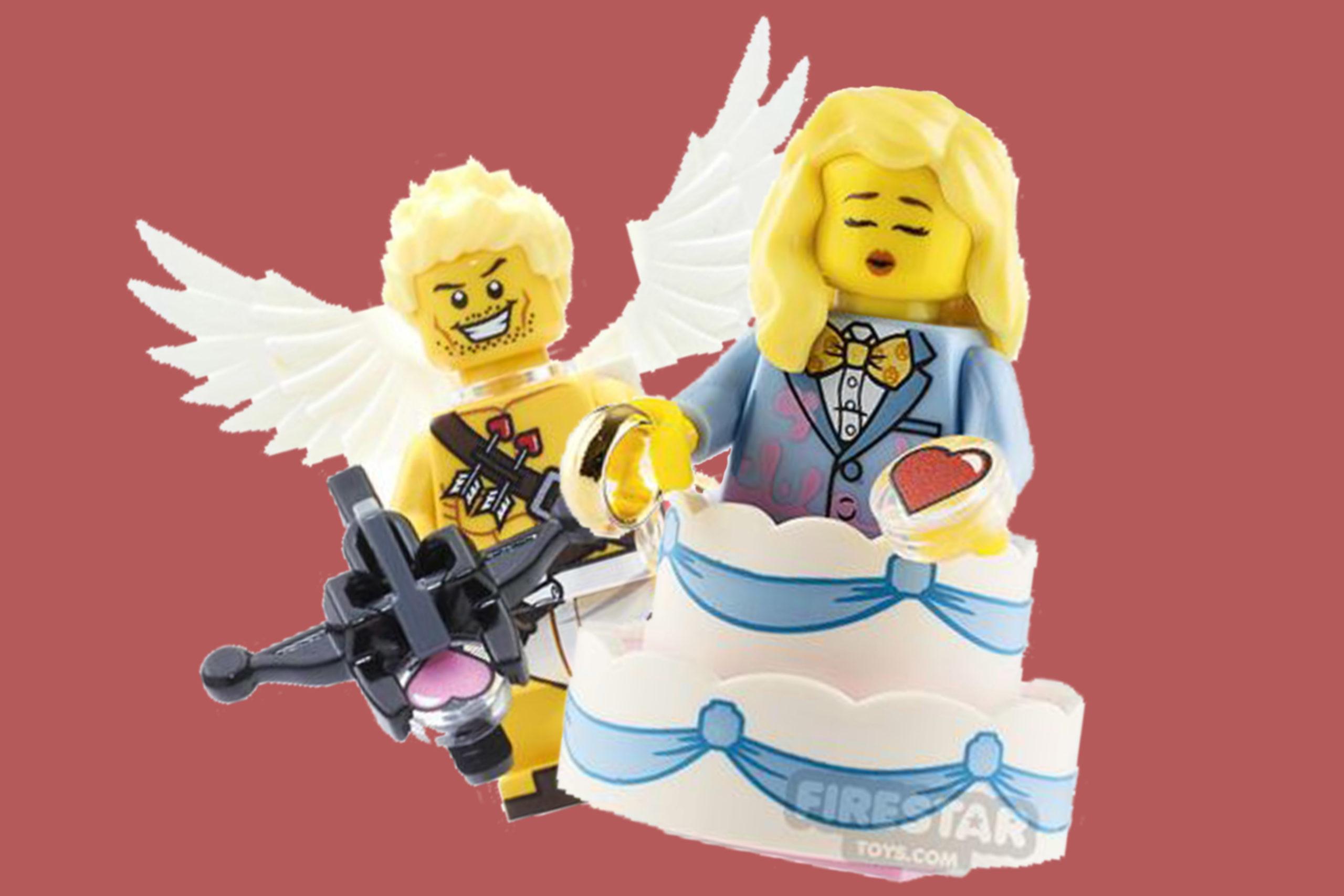 LEGO Valentine's Day - Custom Minifigures