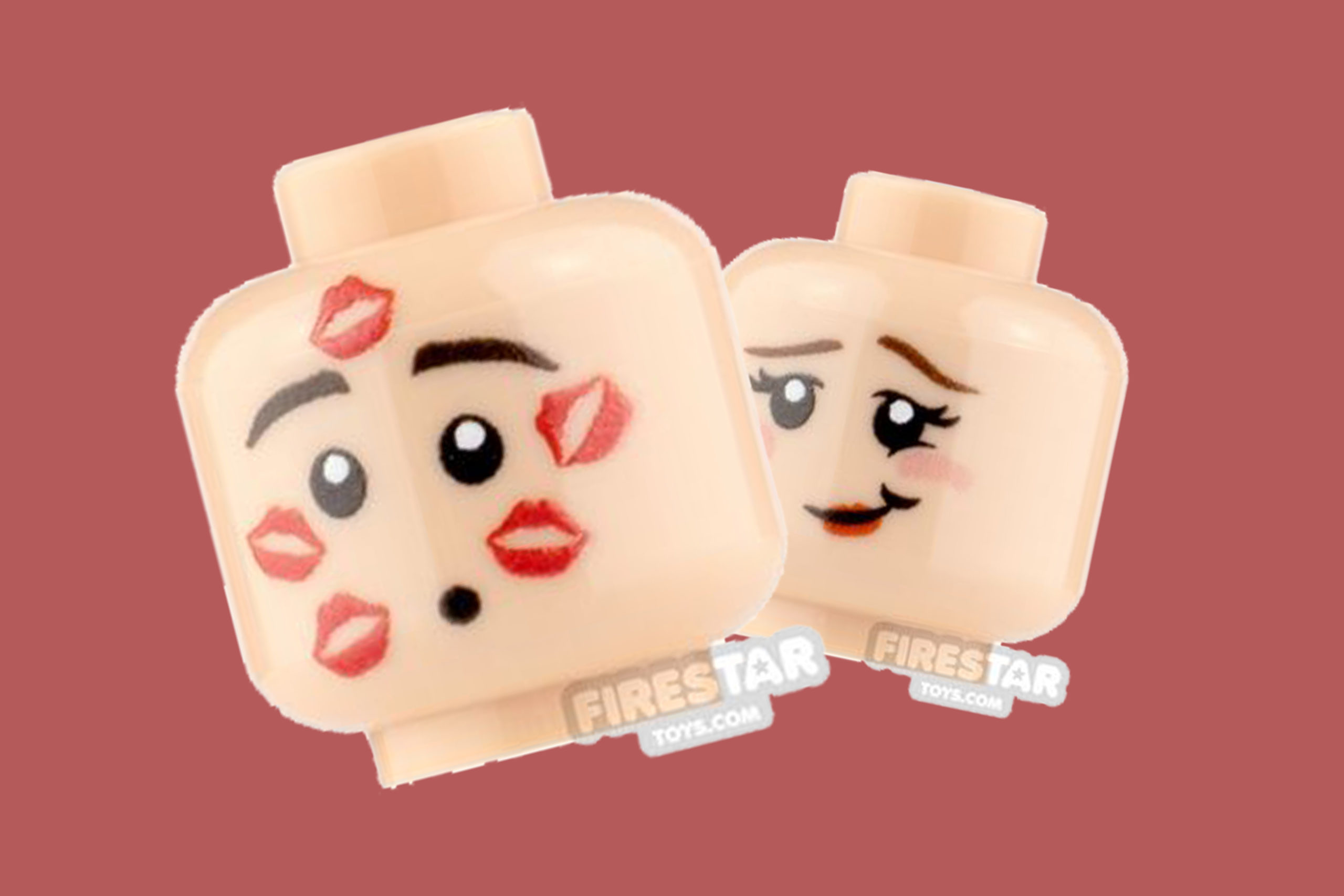 LEGO Valentine's Day - Printed Minifigure Elements