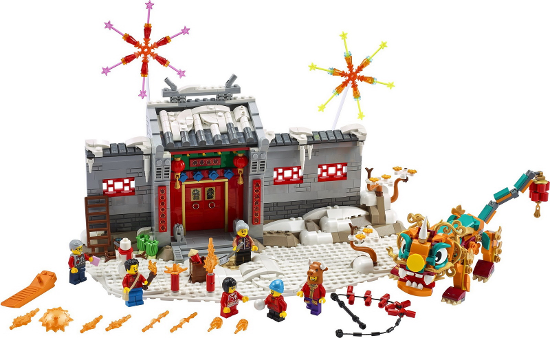 LEGO Chinese New Year - Story of Nian Set Image