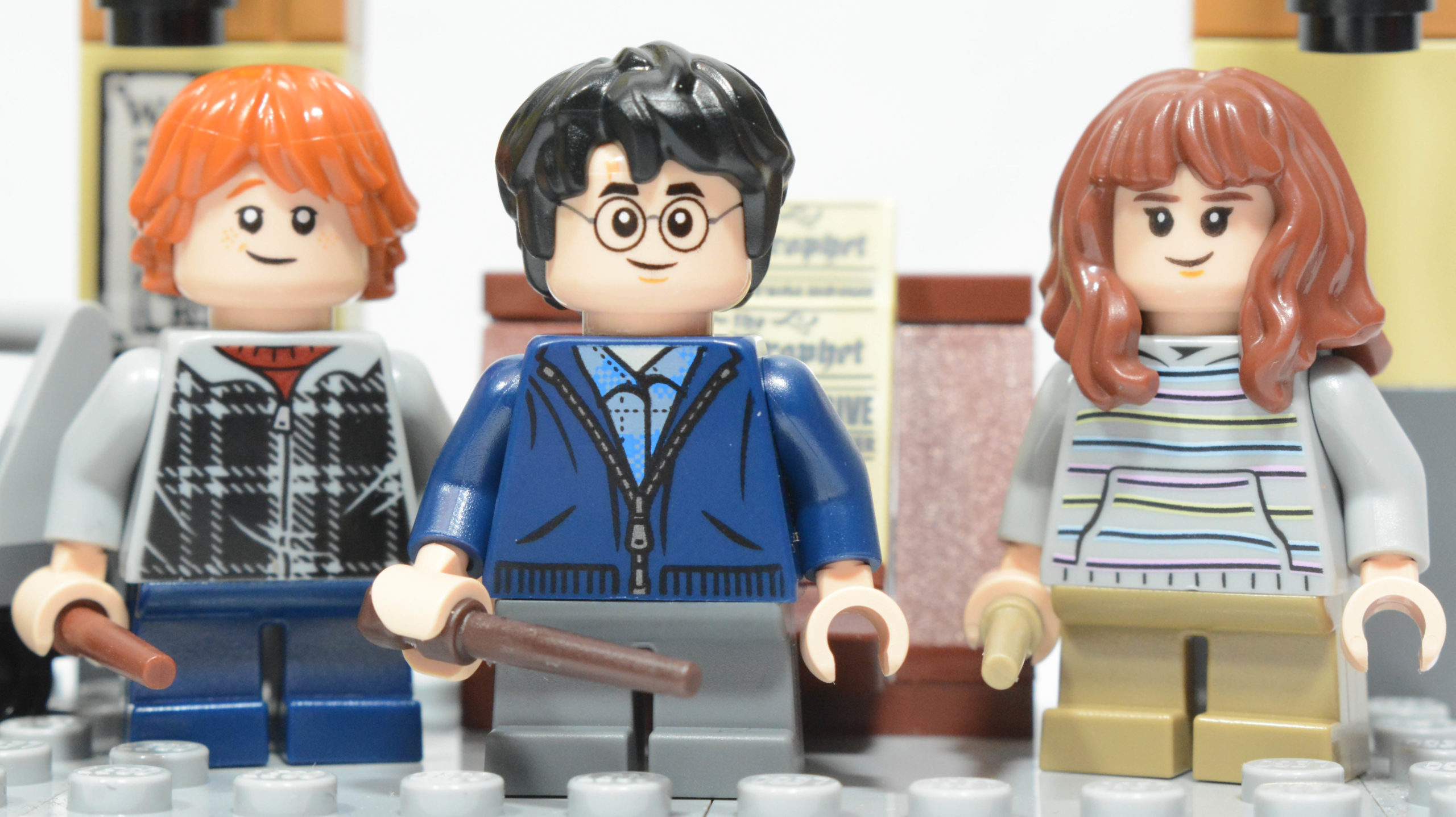 LEGO Harry Potter - Ron, Harry and Hermione