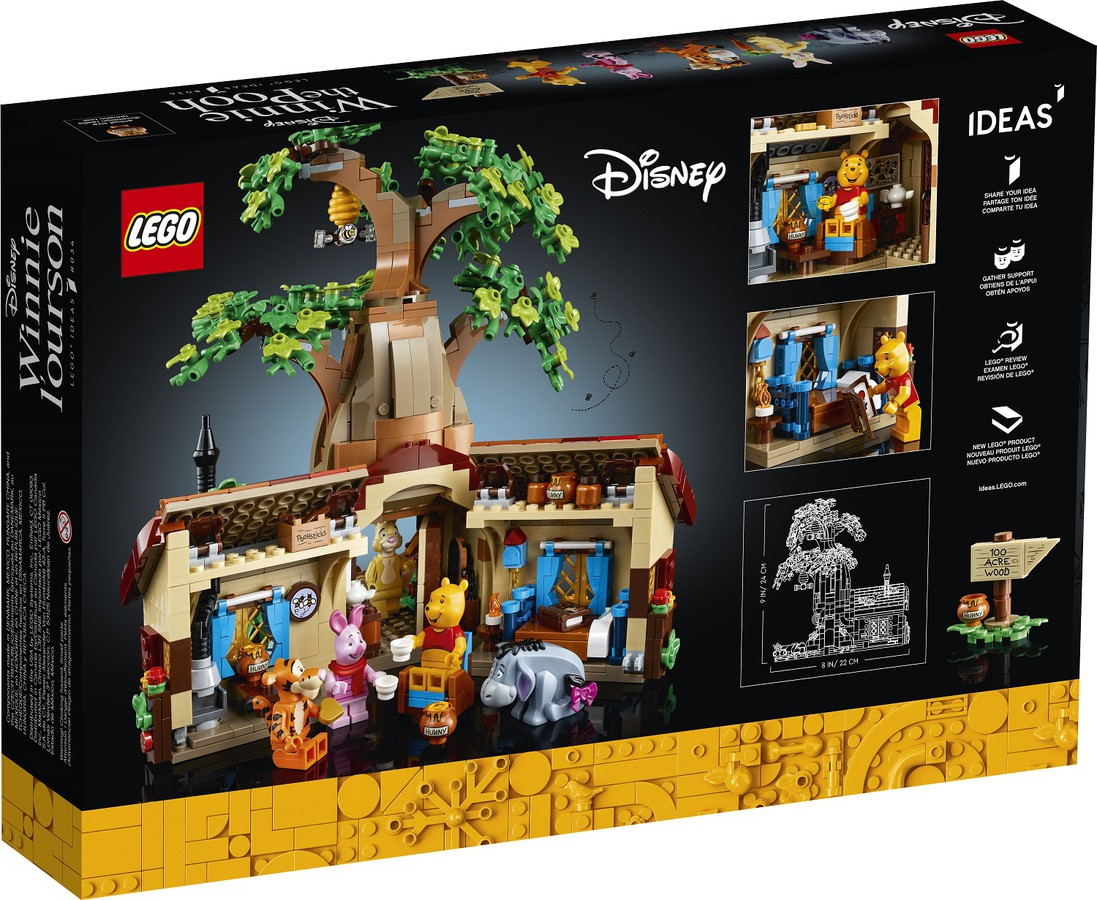 LEGO Winnie The Pooh - Back of Box Image